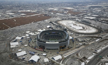 MetLife Stadium in East Rutherford, New Jersey.