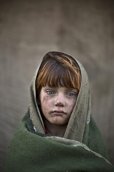 20 Photos: Six-year-old Laiba Hazrat in a slum on the outskirts of Islamabad