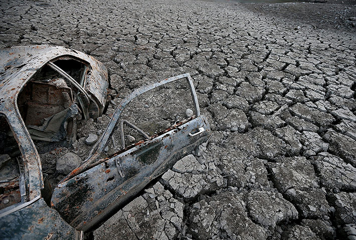 20 Photos: California Drought Dries Up Bay Area Reservoirs