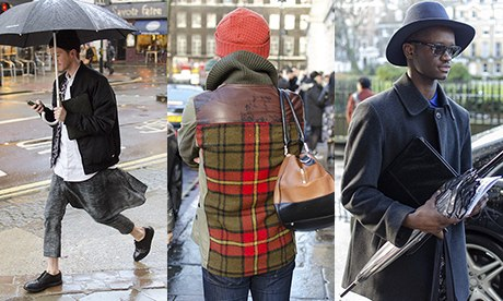 London Collections: Men - street style