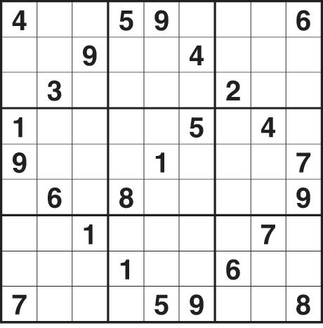 Printable Blank Sudoku Templates Related Keywords & Suggestions ...