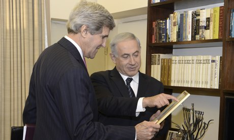 US Secretary John Kerry Visits Israel