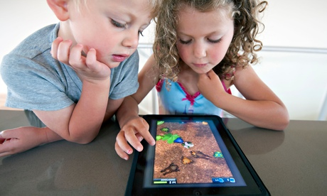 Meet the experts: children often find tablets more instinctive than adults.