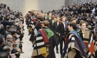 Burberry Prorsum show at London Collection
