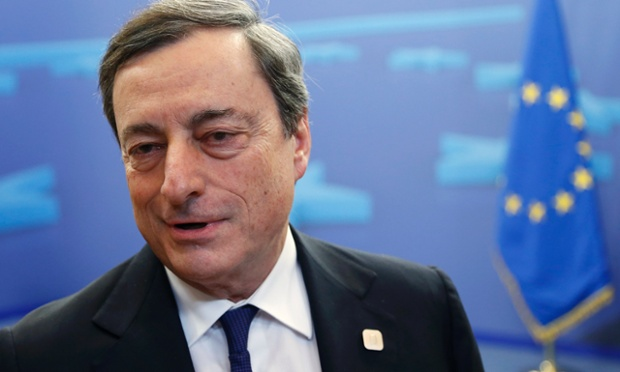 European Central Bank (ECB) President Mario Dragh.