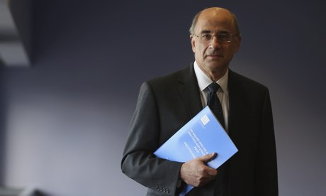 Lord Justice Leveson with report