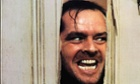 Jack Nicholson in The Shining, directed by Stanley Kubrick.