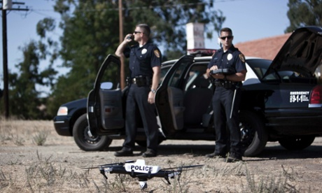 Police drone Qube Grand Forks