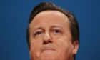 David Cameron at the Conservative party conference.