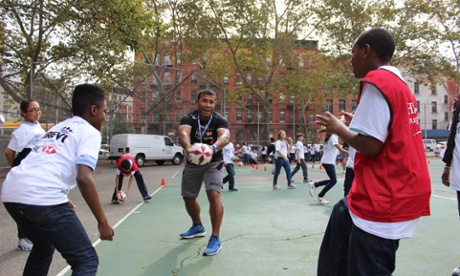 Rugby great Serevi does the Harlem shuffle  and dummy, sidestep and pass | Martin Pengelly