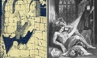 Dracula Frankenstein illustrations