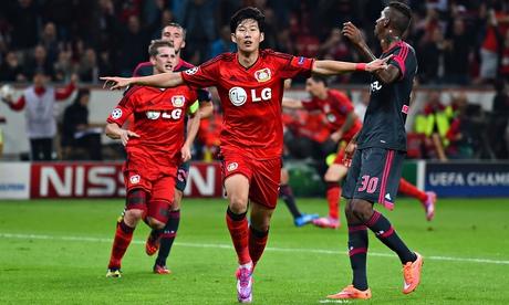 Bayer Leverkusen 3-1 Benfica (Grupa C)