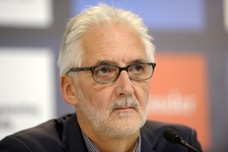 Photo: UCI president Brian Cookson. Photograph: Miguel Riopa/AFP/Getty Images.