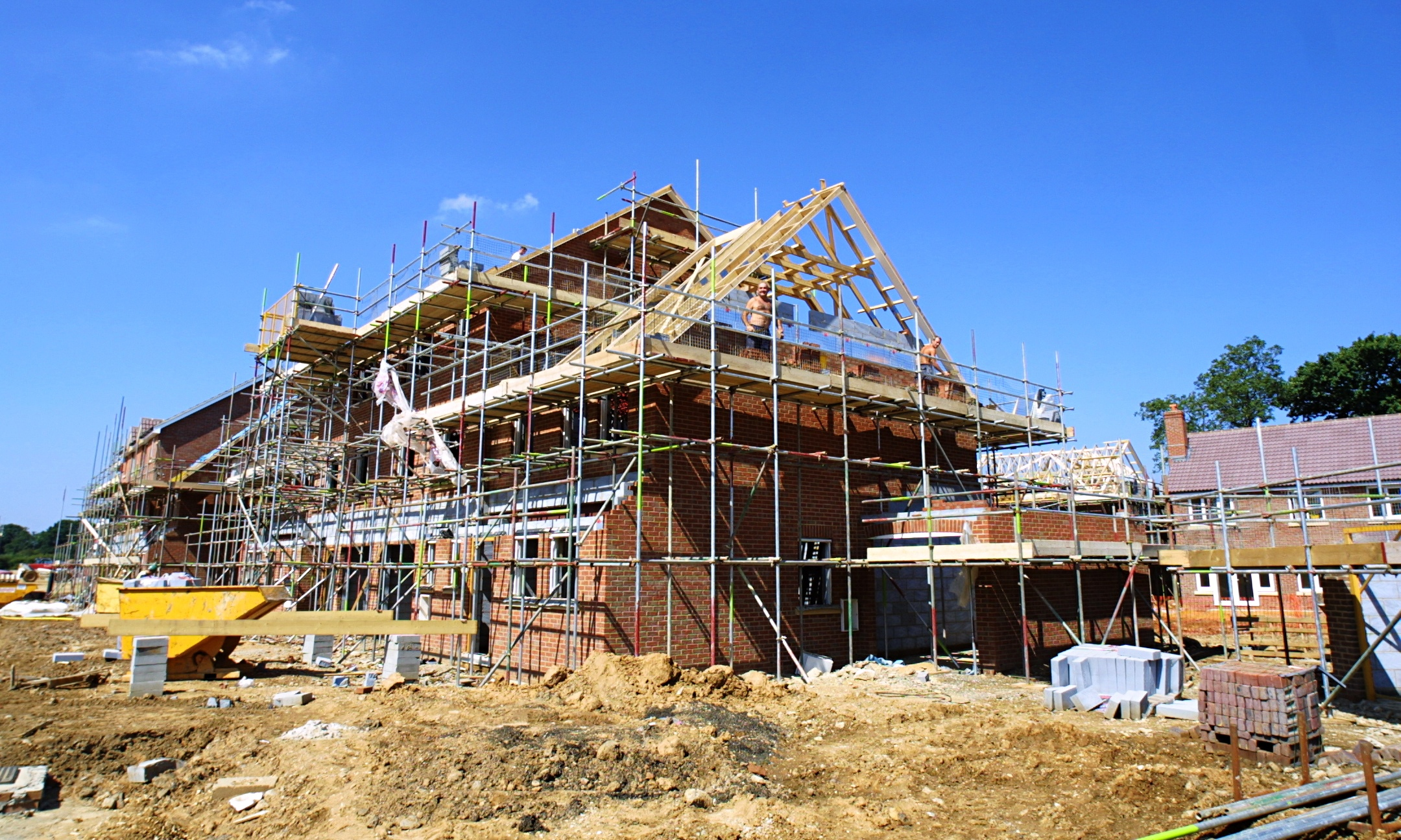 Housebuilding Falls For First Time In 18 Months Ons Says