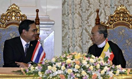 Prayuth Chan-ocha visits Myanmar