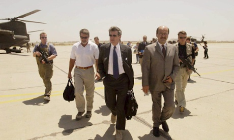 Paul Bremer in Iraq