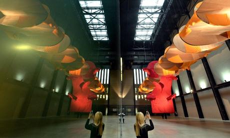 Richard Tuttle installation in Tate Modern's Turbine Hall