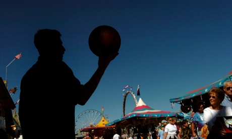 The North Carolina state fair in Raleigh. Photograph: Sher Stoneman/AP