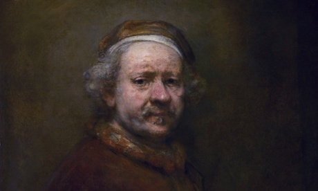 Rembrandt's Self Portrait at the Age of 63