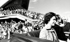 The Queen and Prince Philip at the official opening of Sydney Opera House.