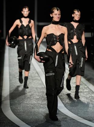 The Alexander Wang X H&M show