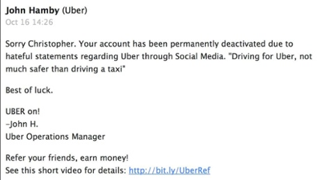 email to chris uber