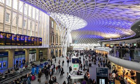 King's Cross railway station in London United Kingdom