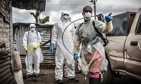 Ebola crisis, Monrovia, Liberia - 14 Oct 2014