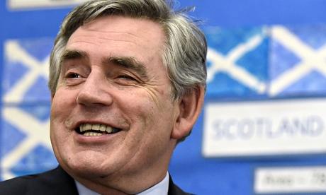 Scotland's hope? Gordon Brown.