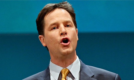 Clegg accuses May of false and outrageous slurs over snoopers charter