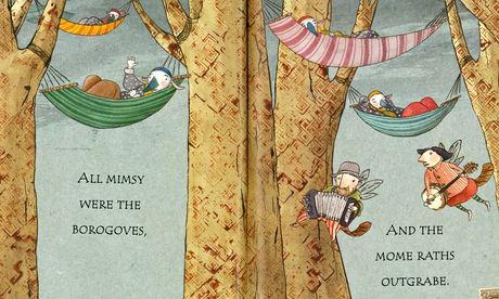 Lewis Carroll's Jabberwocky by illustrator Joel Stewart