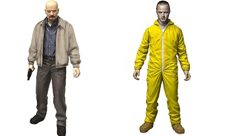 Walter and Jesse Breaking Bad dolls … 'intended for 15 and up'