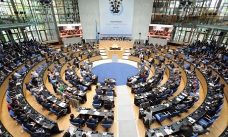 Bonn climate change conference, October 2014.