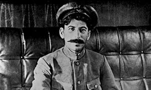 Stalin at Tsaritsin … straight from exile into revolution.