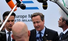 David Cameron at Asia-Europe meeting in Milan