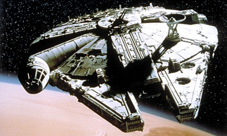The Millennium Falcon from Star Wars IV: A New hope.