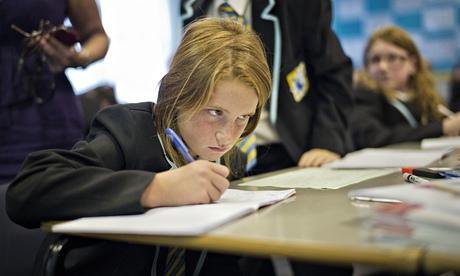 Class at the Clacton Coastal academy.