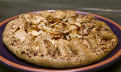 Jack Monroe's pear and almond tart recipe