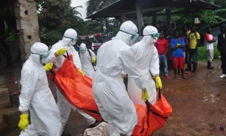 ebola health workers in Liberia