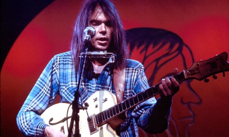 Rare Neil Young live album, Time Fades Away, gets Black Friday reissue