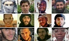 Some of the Britons who have died fighting in the Middle East