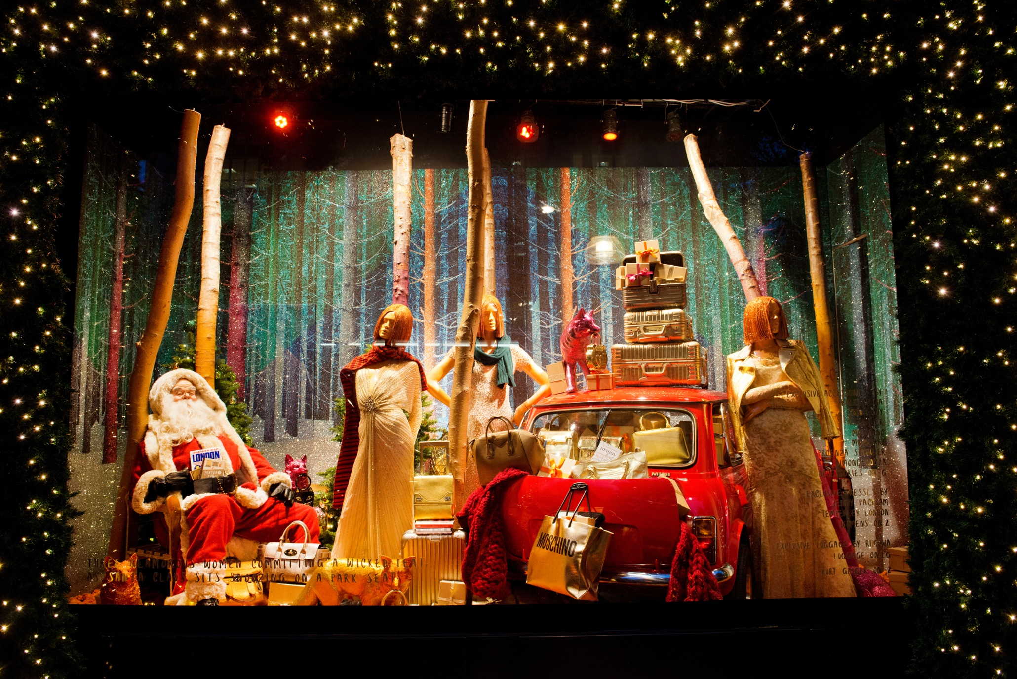 the communication of window displays selfridges Unfortunately, we don't have access to selfridges' complete archive of christmas window displays, but we can show you those from the previous five years  this year's selfridges display is an .