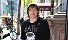 Rupert Grint in New York where he is appearing on Broadway in It's Only a Play.