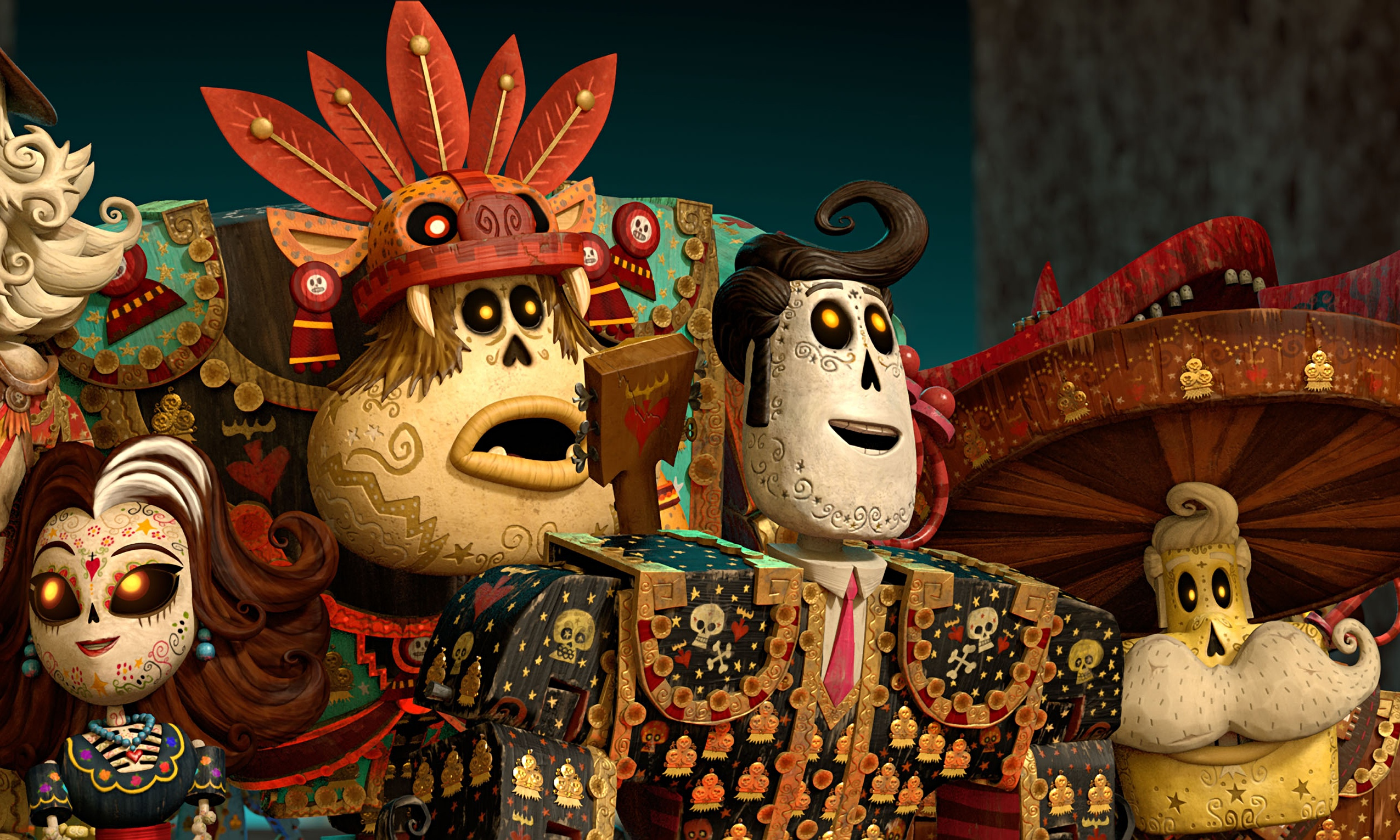 The book of life review vibrantly alternative animation for The book of life characters names