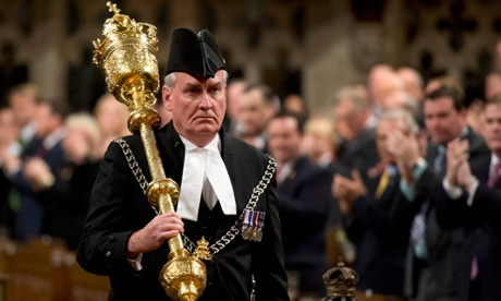 Kevin Vickers receives hero's welcome in Ottawa parliament building
