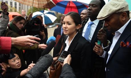 Haiti Cholera in court