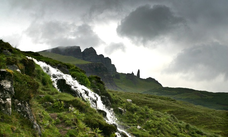 The Old Man of Storr on the Isle of Skye
