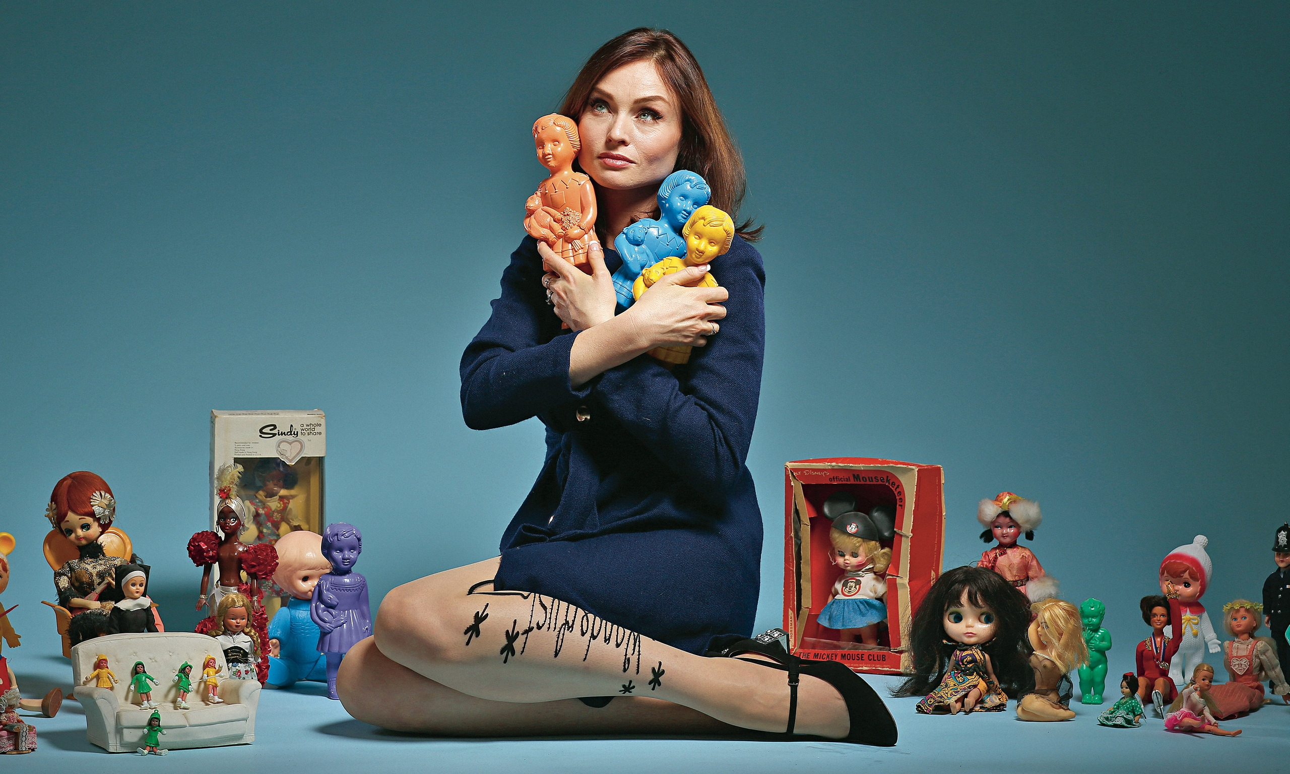 Why Collect Dolls I Grew Out Of Stamps Says Sophie Ellis Bextor