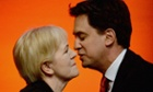 Johann Lamont with Ed Miliband, at the Scottish Labour conference earlier this year.