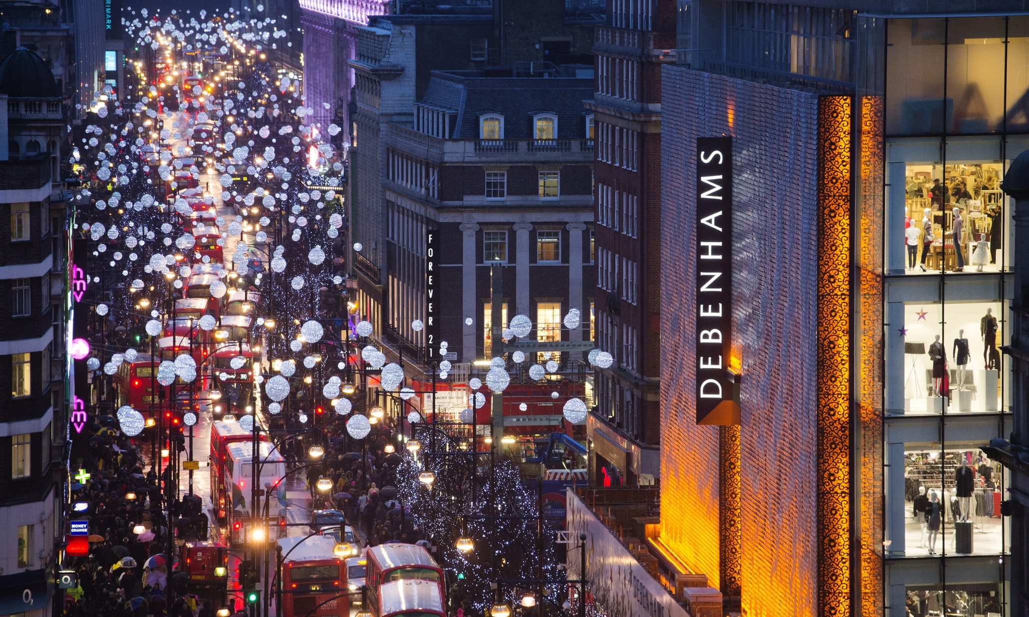 Oxford Street: pedestrianise or die? | UK news | The Guardian